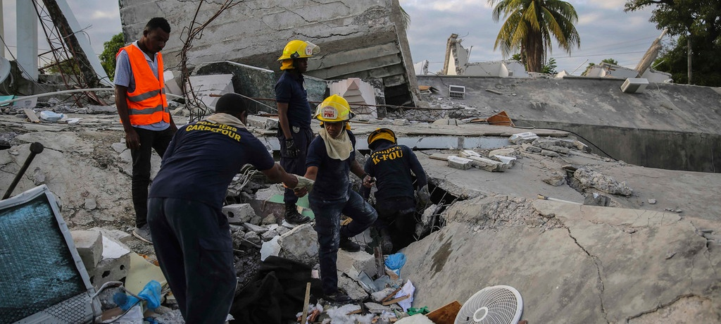 Haiti Devastated by New Earthquake